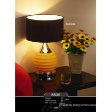 New Fashion Black Fabric Simple Table Lamp for Home