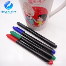Marcador de cerámica multicolor de la venta caliente, marcador de la porcelana