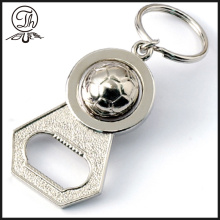 Sports Football metal bottle opener keyring