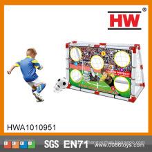 Venta al por mayor de niños de juguete al aire libre de juguete de fútbol de formación Soccer Goal Post