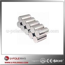 Imán de NdFeB de la barra / del cilindro de la alta calidad N45SH para la venta