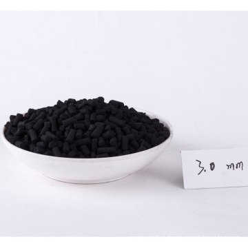 3mm pellet activated carbon for gold mining