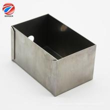 Custom sheet metal fabrication aluminum U-shape enclosure