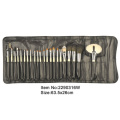 24 piece Professional Factory OEM top quality cosmetic brush set