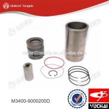 Kit de pistones Yuchai M3400-9000200D * para YC6M