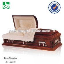 Mobília do competidor americano de madeira caixão por atacado