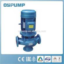 Fabricant vertical de pompe d'eaux d'égout en ligne
