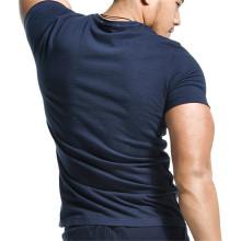180 Grams Short Sleeve Round Neck Bamboo Cotton tshirt