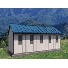 Vorgefertigte, Stahlstruktur Modulares Haus (pH-98)