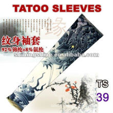 2016 dragon design tight tattoo sleeve