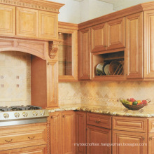 Villa Apartment Kitchen Cabinet Solid Wood