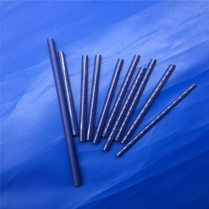 Blue High Precision Machining Zirconia Ceramic Rod