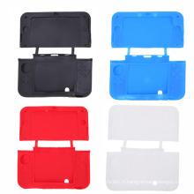 Housse en silicone de couverture de peau de couverture en caoutchouc coloré pour 3DSXL 3DSLL 3DS XL LL