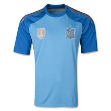 Spain 2014 Home Goalkeeper Jersey Soccer Shirt