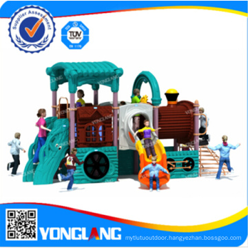 Plastic Outdoor Playground Equipment, Yl-A012