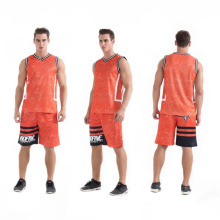 2017 new model basketball wear breathable mesh popular basketball uniform on selling