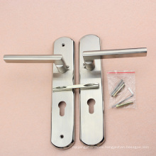 High Quality Stainless Steel Door Handle with Plate with 36 Months Guarantee