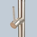 SINGLE-HOLE KITCHEN FAUCET WITH PULL OUT SPRING SPOUT