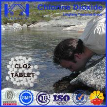 Mejor desinfectante tableta de dióxido de cloro para esterilización de agua potable