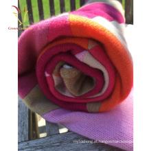 Caxemira cobertores de costura bebê para atacado de inverno