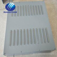 металла звуковой барьер покрынный PVC звукоизоляционные загородка хайвея барьера шума