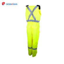 Combinaison réfléchissante de sécurité de vêtements de travail de vente chaude de haute qualité