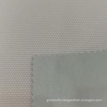Orthohexagonal Grain PVC Leather Gloves Leather