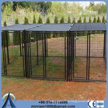 ISO 9003 oder galvanisierter bequemer tragbarer Hundezaun