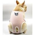 Small Dog Cute Summer Cotton Stripe Sanitary Pantie