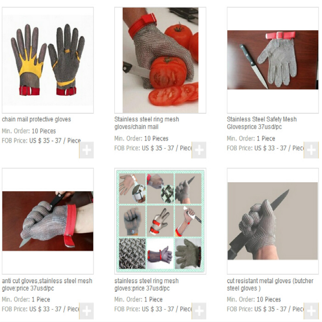 Cutting Gloves