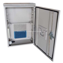 Recinto de distribución de fibra óptica de CCTV al aire libre