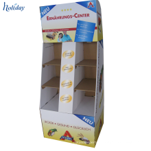 Corrugated Display Supermarket Decoration For Retail
