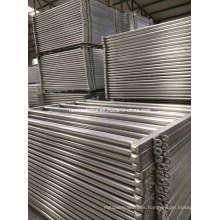 2.1m 6 Bar 80X40 / 50X50 Panel de Ganado Ovalado