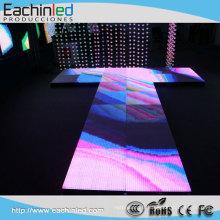 Nouvel affichage imperméable polychrome d'étape de location de plancher de la danse P10 de conception