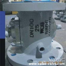 Soft Seat PTFE/Ppl Jacketed Plug Valve