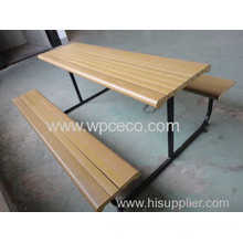 Anti-slip No Paint Wood Plastic Composite For Bench
