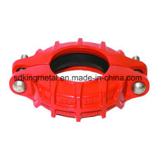 Ductile Iron 300psi NPT Threaded Reducing Fexible Coupling