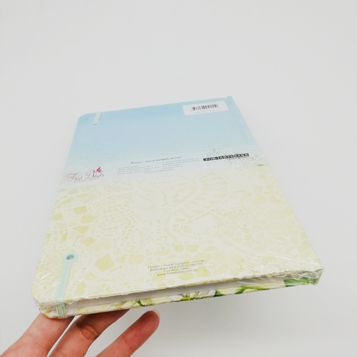 Recycle Paper Notebook With Shrink Wrapping