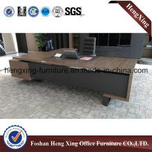 Classic L-Shaped Melamine Office Table (HX-6M072)