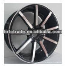 Amg / bbs roues noires chrome pour voiture