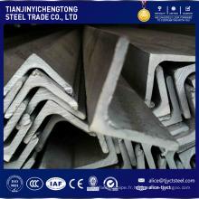 barre d'acier inoxydable 304 fendue barre d'angle prix par kg
