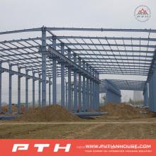 Diseño personalizado Almacén grande de acero de la estructura del palmo de Pth