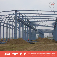 Entrepôt adapté aux besoins du client de structure métallique de grande envergure de conception de Pth
