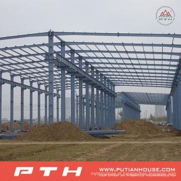 Armazém personalizado da construção de aço do período do grande projeto com instalação fácil