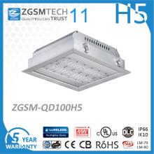 Lumière d'auvent de garage de stationnement de la place 100W LED 120lm / W