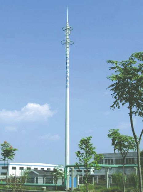 Galvanized Telecommunication Steel Pole