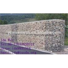 Hot dipped gabion box/stone cage/gabion basket