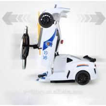 2015 transformation toys transfer rc car transform car Intelligent Shape Shifting Robot for kids