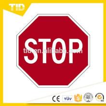 """Panneau d'arrêt d'alimentation de circulation routière 30 """"x30"""" réfléchissant prismatique"""