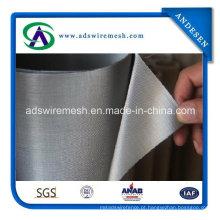 Malha de arame de aço inoxidável tecida ultra fina do weave 24X110 do Dutch